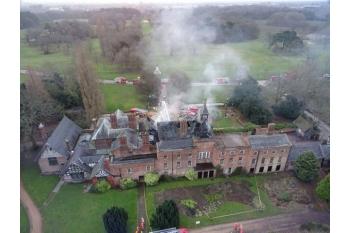 Wythenshawe Hall Fire Appeal 2016