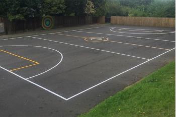 Grange Park Primary School Playground Markings