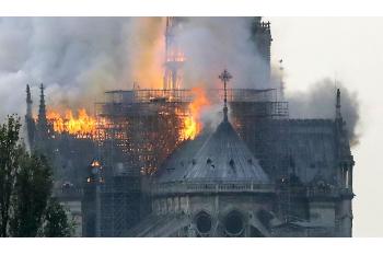 Notre-Dame Cathedral Fire, Paris