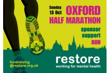 Running for Restore - the Oxford Half Marathon