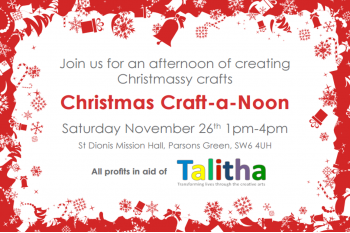 Christmas Craft-a-noon