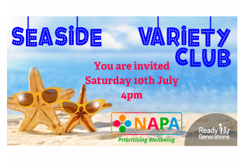 The Seaside Variety Show- NAPA and Ready Generations