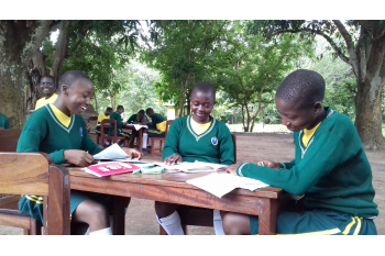 Text your support to Ibba Girls' School, South Sudan