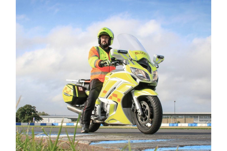 Leicestershire and Rutland Blood Bikes