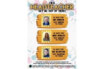 I'm a Headteacher Get Me Out of Here: Dare the Headteacher!