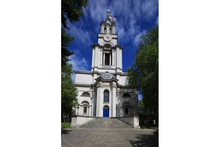 The Parish church of St Anne's Limehouse