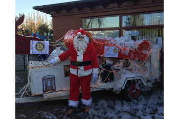 Beeston Rotary's Christmas collection