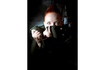 Shirley Manson lead singer of Garbage