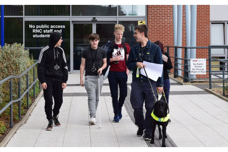 The Royal National College for the Blind
