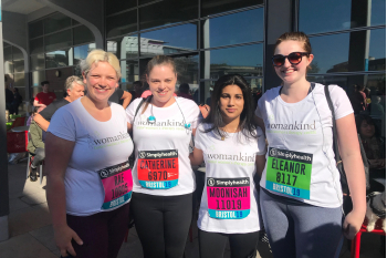 Please support our team - raise funds for Womankind!