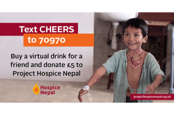 BUY A FRIEND A VIRTUAL DRINK & HELP BUILD A HOSPICE IN NEPAL