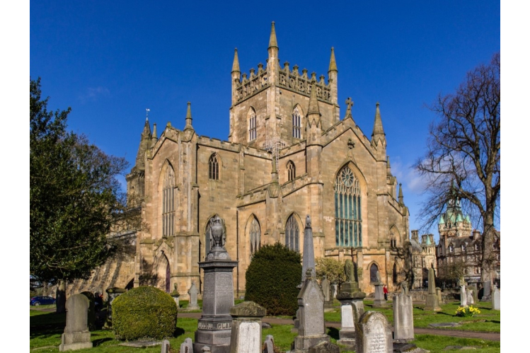 The Abbey Church of Dunfermline