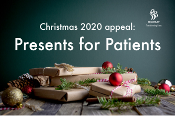 Mildmay Christmas 2020 Appeal: Presents for Patients