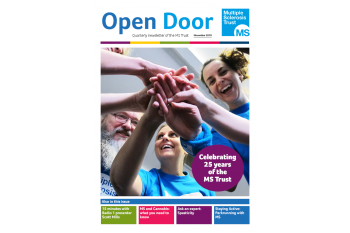Open Door - the MS Trust's free quarterly newsletter