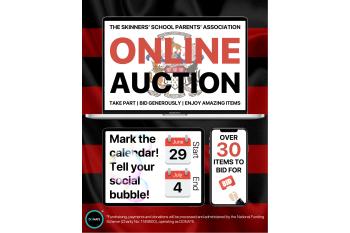 Skinners' School Parents' Association Online Auction 2020