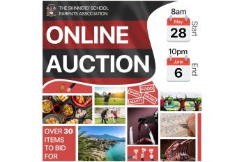 Skinners' School Parents' Association Online Auction 2021