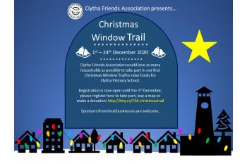 CFA Christmas Window Trail