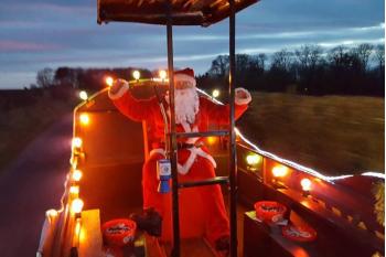 Malton, Norton and District Lions Santa's Sleigh 2020