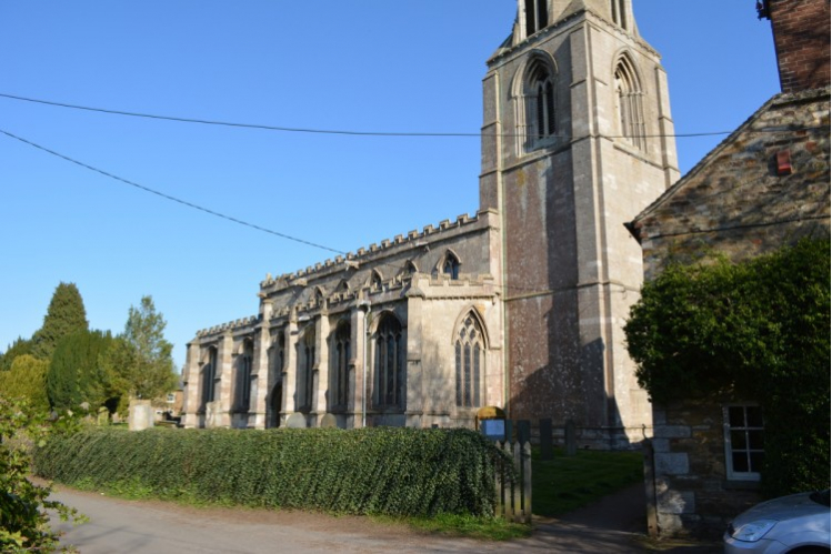 Parish church of Langham in Rutland