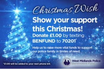 West Midlands Police Benevolent Fund Christmas Wishes