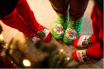 Inspire Suffolk Santa Sock Day