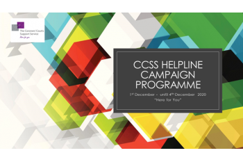 Here for You    - Supporting the CCSS National Helpline