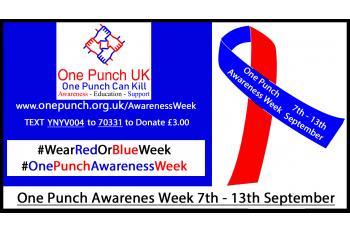 One Punch Awareness Week