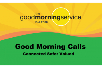 Good Morning Calls: Friendship + Safety-net Alert Service